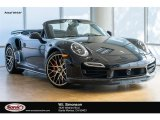 2016 Black Porsche 911 Turbo Cabriolet #116076193