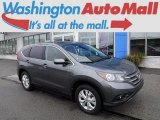 2014 Polished Metal Metallic Honda CR-V EX AWD #116101205