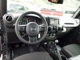 2017 Jeep Wrangler Unlimited Sport 4x4 Black Interior