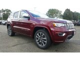 2017 Velvet Red Pearl Jeep Grand Cherokee Overland 4x4 #116117033
