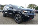 2017 Diamond Black Crystal Pearl Jeep Grand Cherokee Trailhawk 4x4 #116117031