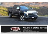 2017 Midnight Black Metallic Toyota Tundra 1794 CrewMax 4x4 #116117009