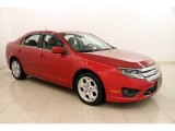 2010 Red Candy Metallic Ford Fusion SE #116138727