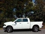 2017 Bright White Ram 1500 Laramie Crew Cab 4x4 #116138369