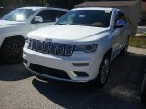2017 Ivory Tri-Coat Jeep Grand Cherokee Summit 4x4 #116138704