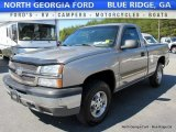 2003 Light Pewter Metallic Chevrolet Silverado 1500 LS Regular Cab 4x4 #116138344
