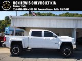 2017 Summit White Chevrolet Silverado 1500 LT Crew Cab 4x4 #116138512