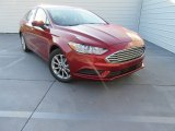 2017 Ruby Red Ford Fusion SE #116138633