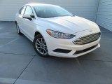 2017 White Platinum Ford Fusion SE #116138632