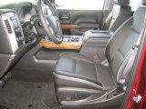 2017 Chevrolet Silverado 1500 High Country Crew Cab 4x4 Dark Ash/Jet Black Interior