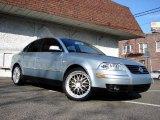 2001 Volkswagen Passat Blue Silver Metallic