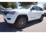 2017 Bright White Jeep Grand Cherokee Trailhawk 4x4 #116195668