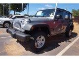 2017 Billet Silver Metallic Jeep Wrangler Unlimited Sport 4x4 #116195665