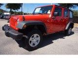 2017 Firecracker Red Jeep Wrangler Unlimited Sport 4x4 #116195664