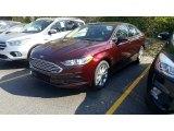 2017 Ford Fusion Burgundy Velvet