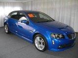 2009 Stryker Blue Metallic Pontiac G8 Sedan #11586990