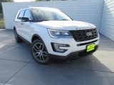 2017 White Platinum Ford Explorer Sport 4WD #116195766
