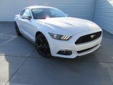 2017 White Platinum Ford Mustang EcoBoost Premium Coupe #116195763