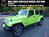 2017 Hypergreen Jeep Wrangler Unlimited Sahara 4x4 #116195623