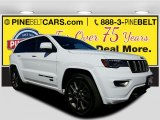 2017 Bright White Jeep Grand Cherokee Limited 75th Annivesary Edition 4x4 #116195572
