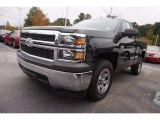 2014 Black Chevrolet Silverado 1500 WT Regular Cab #116195682