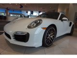 2016 White Porsche 911 Turbo S Coupe #116195680