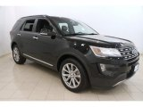 2016 Shadow Black Ford Explorer Limited 4WD #116195911