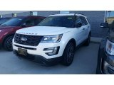 2017 White Platinum Ford Explorer Sport 4WD #116223015