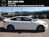 2017 Oxford White Ford Fusion Sport AWD #116222802
