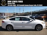 2017 Oxford White Ford Fusion SE #116222800