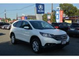 2014 White Diamond Pearl Honda CR-V EX AWD #116222794