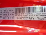 2017 Wrangler Unlimited Color Code for Firecracker Red - Color Code: PRC