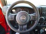 2017 Jeep Wrangler Unlimited Sport 4x4 Steering Wheel