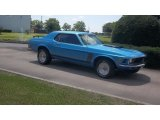 1970 Ford Mustang Acapulco Blue Metallic