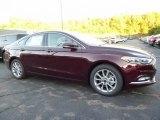 2017 Burgundy Velvet Ford Fusion SE #116222815