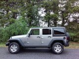 2017 Billet Silver Metallic Jeep Wrangler Unlimited Sport 4x4 #116222724