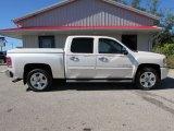 2009 White Diamond Tricoat Chevrolet Silverado 1500 LTZ Crew Cab 4x4 #116250011