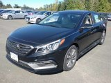 2017 Phantom Black Hyundai Sonata Limited #116250024