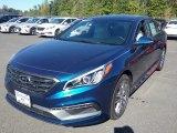2017 Lakeside Blue Hyundai Sonata Limited 2.0T #116250022