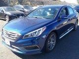 2017 Lakeside Blue Hyundai Sonata Sport 2.0T #116250020