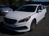 2017 Quartz White Pearl Hyundai Sonata Limited #116250016