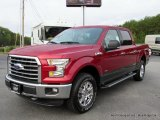 2016 Ruby Red Ford F150 XLT SuperCrew 4x4 #116249848
