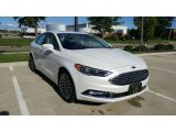 2017 White Platinum Ford Fusion SE #116267585