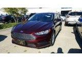 2017 Burgundy Velvet Ford Fusion S #116267580