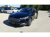 2017 Shadow Black Ford Fusion Titanium AWD #116267579