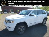 2017 Bright White Jeep Grand Cherokee Limited 4x4 #116267403