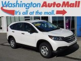 2013 White Diamond Pearl Honda CR-V LX AWD #116287093