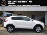 2017 Clear White Kia Sportage LX AWD #116287082