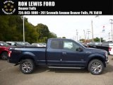 2016 Blue Jeans Ford F150 XLT SuperCab 4x4 #116287076
