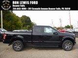 2016 Shadow Black Ford F150 XLT SuperCab 4x4 #116287074